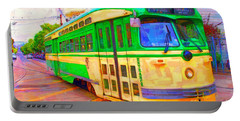 San Francisco F-line Trolley Portable Battery Charger