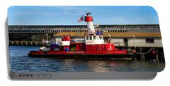 San Francisco Guardian Fireboat No 2 Portable Battery Charger