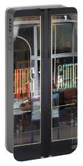 San Francisco Gumps Department Store Doors - Full Cut - 5d17094 Portable Battery Charger