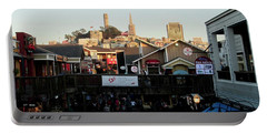 San Francisco In The Sun Portable Battery Charger