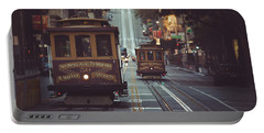 San Francisco Portable Battery Charger by JR Photography
