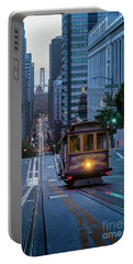 San Francisco Morning Commute Portable Battery Charger