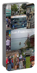 Portable Battery Charger featuring the photograph San Francisco Poster by Joan Reese