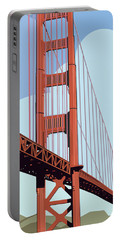 San Francisco Poster  Portable Battery Charger