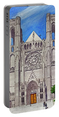 San Francisco's Grace Cathedral Portable Battery Charger by Mike Robles