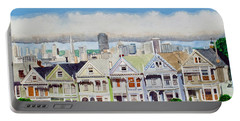 San Francisco's Painted Ladies Portable Battery Charger