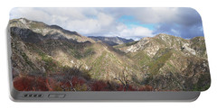 San Gabriel Mountains National Monument Portable Battery Charger by Kyle Hanson