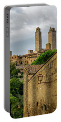 Portable Battery Charger featuring the photograph San Gimignano by Jean Haynes