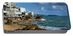 San Juan Bay In Puerto Rico Portable Battery Charger
