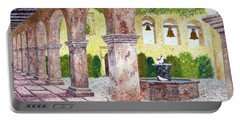 San Juan Capistrano Courtyard Portable Battery Charger