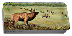 San Juan Elk Vista Portable Battery Charger