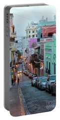 San Juan Evening Glow Portable Battery Charger