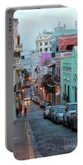 San Juan Evening Glow Portable Battery Charger