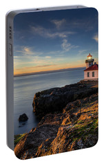 Portable Battery Charger featuring the photograph San Juan Island Serenity by Dan Mihai