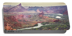 San Juan River And Mule's Ear Portable Battery Charger