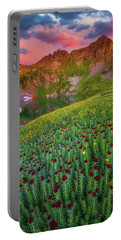Portable Battery Charger featuring the photograph San Juan Sunrise by Darren White
