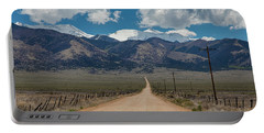 San Luis Valley Back Road Cruising Portable Battery Charger by James BO Insogna