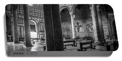 Portable Battery Charger featuring the photograph San Miniato Al Monte by Sonny Marcyan