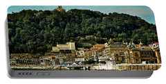 San Sebastian Spain Portable Battery Charger by Mary Machare