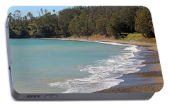 Portable Battery Charger featuring the photograph San Simeon Cove by Art Block Collections