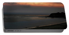 San Simeon Sunset 001 Portable Battery Charger