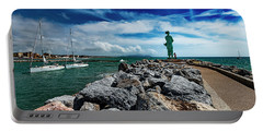 San Vincenzo Molo Del Marinaio - Mariner Pier Portable Battery Charger
