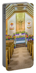 Portable Battery Charger featuring the photograph Sanctuary At Easter by Nick Zelinsky