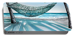 Sand And Shadows Portable Battery Charger