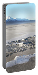 Sand And Snow In Southeast Alaska Portable Battery Charger