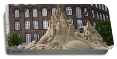 Portable Battery Charger featuring the photograph Sand Castle by Harvey Barrison