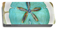 Sand Dollar Star Attraction Portable Battery Charger