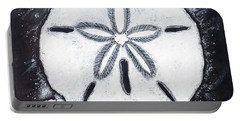 Sand Dollars Portable Battery Charger by Scott and Dixie Wiley