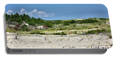Sand Dune In Cape Henlopen State Park - Delaware Portable Battery Charger