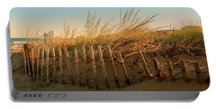 Sand Dune In Late September - Jersey Shore Portable Battery Charger