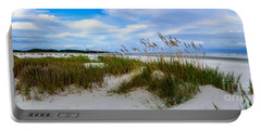 Sand Dunes And Blue Skys Portable Battery Charger