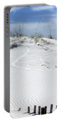 Portable Battery Charger featuring the photograph Sand Dunes Dream 2 by Marie Hicks