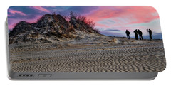 Sand Dunes Of Kitty Hawk Portable Battery Charger