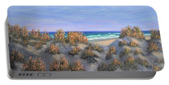 Sand Dunes Sea Grass Beach Painting Portable Battery Charger