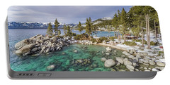 Sand Harbor Views Portable Battery Charger