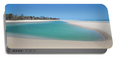 Sand Island Paradise Portable Battery Charger