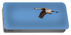 Portable Battery Charger featuring the photograph Sandhill Crane 2017-1 by Thomas Young