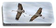 Sandhill Crane Approach Portable Battery Charger