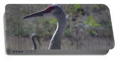 Sandhill Crane Early Fall Portable Battery Charger