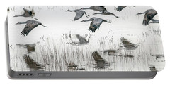 Sandhill Cranes 5968-022015-1cr Portable Battery Charger