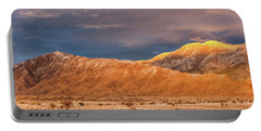 Sandia Crest Stormy Sunset 2 Portable Battery Charger by Alan Vance Ley