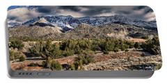 Sandia Mountain Landscape Portable Battery Charger