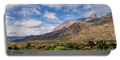 Portable Battery Charger featuring the photograph Sandias Magic by Gina Savage