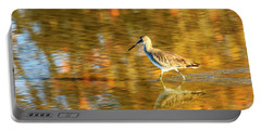 Sandpiper At Bunche Beach Portable Battery Charger