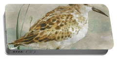 Sandpiper I Portable Battery Charger by Mindy Sommers