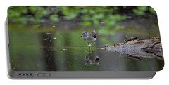 Portable Battery Charger featuring the photograph Sandpiper In The Smokies by Douglas Stucky